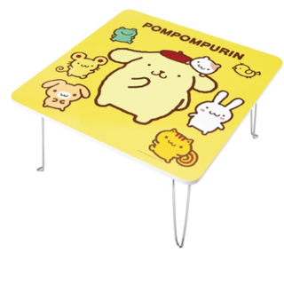 サンリオ(サンリオ)のポムポムプリン一番くじ テーブル(折たたみテーブル)