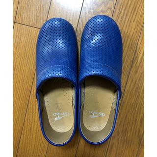 ダンスコ(dansko)のダンスコ ブルー プロフェッショナル パンチング 38(ローファー/革靴)