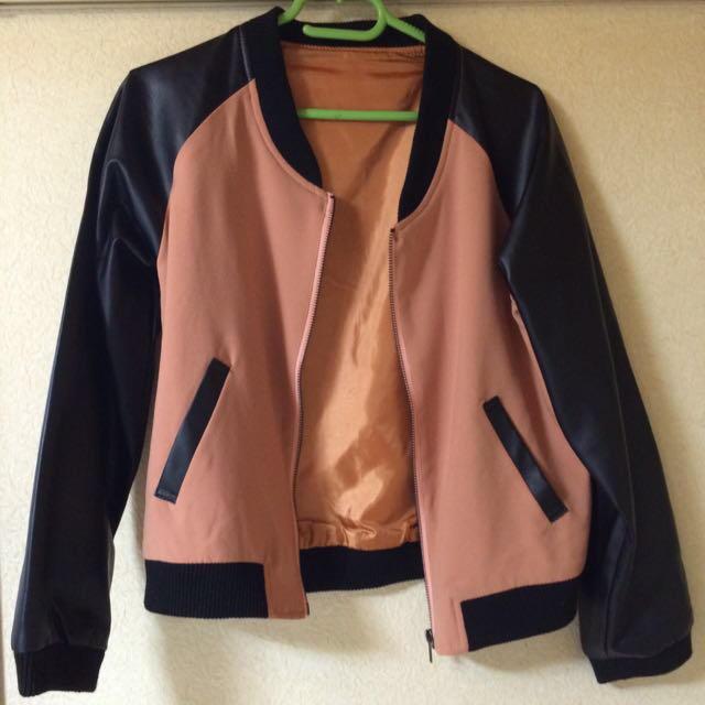 SWEET.B(スウィートビー)のピンクスタジャン レディースのジャケット/アウター(スタジャン)の商品写真