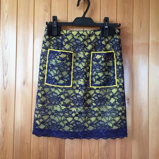 シェル(Cher)のシェルレーススカート(ミニスカート)