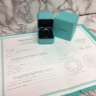 ティファニー(Tiffany & Co.)のティファニー ハーモニー ダイヤリング Pt950 0.42ct (リング(指輪))