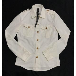 ダブルジェーケー(wjk)の定価28350円 wjk ワイヤーミリタリードレスシャツ AKM(シャツ)
