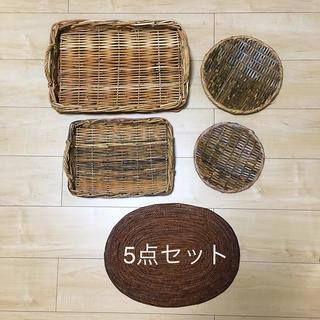 ムジルシリョウヒン(MUJI (無印良品))の美品 キッチン用品 5点セット 無印良品(収納/キッチン雑貨)