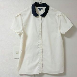 ギャップ(GAP)のGAP丸襟半袖シャツ(シャツ/ブラウス(半袖/袖なし))