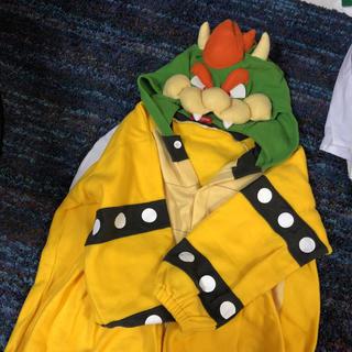 バンダイ(BANDAI)の着ぐるみ クッパ 大人 フリース ハロウィン 仮装 フリーサイズ(衣装)