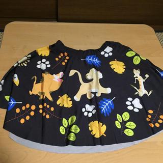 ディズニー(Disney)のライオンキング スカート(ひざ丈スカート)