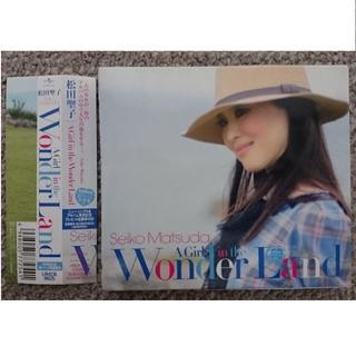 DF  松田聖子  A Girl in the Wonder Land  初回盤(ポップス/ロック(邦楽))