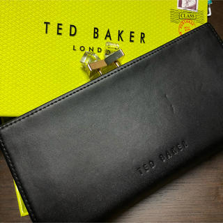 32a0a58b8e1f テッドベイカー(TED BAKER)のTed Baker クリスタル長財布(ブラック)(