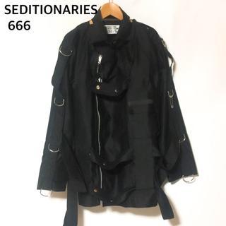 シックスシックスシックス(666)のSEDITIONARIES by 666 セディショナリーズボンデッジジャケット(ミリタリージャケット)