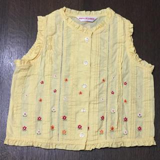 パーソンズキッズ(PERSON'S KIDS)のパーソンズキッズ タンクトップ110cm(Tシャツ/カットソー)