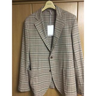 コモリ(COMOLI)のAURALEE silk summer tweed jacket(テーラードジャケット)