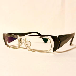 アランミクリ(alanmikli)のアランミクリ alain mikli A0308-02 黒 クリア 眼鏡(サングラス/メガネ)