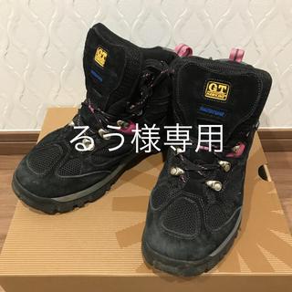 ジーティーホーキンス(G.T. HAWKINS)の【再値下げ】登山靴 トレッキングシューズ G.T.HAWKINS 24.5サイズ(登山用品)