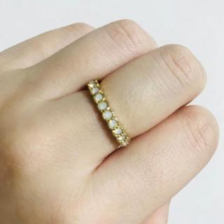 アネモネ(Ane Mone)のリング フリルリング スワロフスキー(リング(指輪))