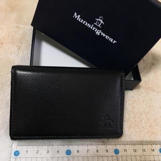 マンシングウェア(Munsingwear)のMunsig wear カードケース(その他)