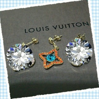 ルイヴィトン(LOUIS VUITTON)のレア💝 ルイヴィトン ピアス (ピアス)