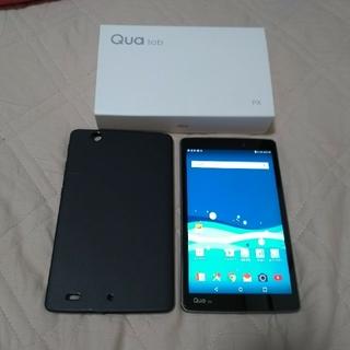 エルジーエレクトロニクス(LG Electronics)の【中古】AU Qua tab PX【美品】(タブレット)