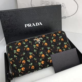 プラダ(PRADA)の新品未使用 プラダ PRADA長財布 1ML506 プラダ直営店購入品(財布)