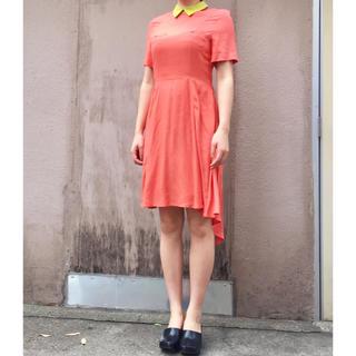 ジーヴィジーヴィ(G.V.G.V.)のG.V.G.V オレンジ 燕尾 ドレス(ひざ丈ワンピース)