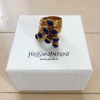 サンローラン(Saint Laurent)のYSL ラピスラズリ アーティリング(リング(指輪))