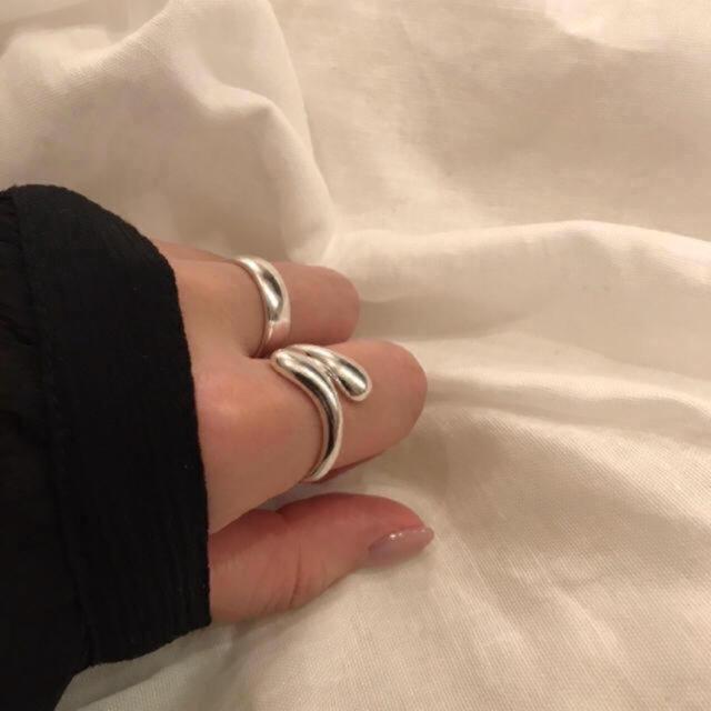 シルバー925 twist ring  レディースのアクセサリー(リング(指輪))の商品写真