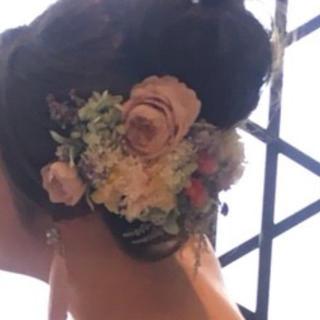 ヘッドドレス  ドライフラワー 結婚式  前撮りなどに☺︎(ドライフラワー)