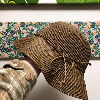 ムジルシリョウヒン(MUJI (無印良品))の無印良品の帽子美品(麦わら帽子/ストローハット)