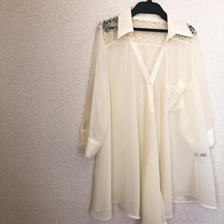 イング(INGNI)のINGNI レースシャツ(シャツ/ブラウス(長袖/七分))