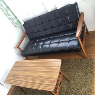 カリモクカグ(カリモク家具)のカリモク60(二人掛けソファ)