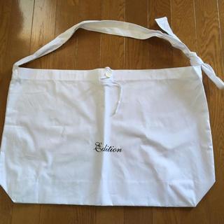 エディション(Edition)の未使用 エディション ショップバッグ edition ホワイト トゥモローランド(ショップ袋)