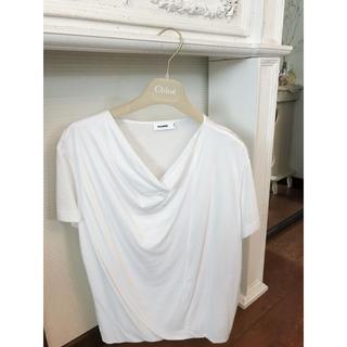 ジルサンダー(Jil Sander)の5万ジルサンダー Tシャツ美品Mサイズ(Tシャツ/カットソー(半袖/袖なし))