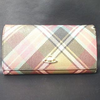 ヴィヴィアンウエストウッド(Vivienne Westwood)のヴィヴィアンウェストウッド 長財布 レザー 10I-2(財布)