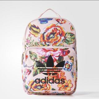 アディダス(adidas)のアディダス 大人気 花柄 リュック(リュック/バックパック)