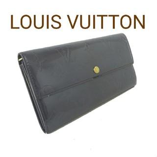ルイヴィトン(LOUIS VUITTON)のLOUIS VUITTON ルイヴィトン 長財布 財布 モノグラム ヴェルニ(財布)