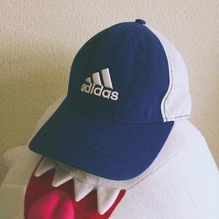 アディダス(adidas)のadidas キャップ ブルー(キャップ)
