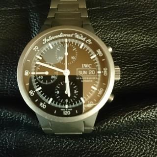 インターナショナルウォッチカンパニー(IWC)のIWC GST クロノグラフ チタン 自動巻 精度良好(腕時計(アナログ))