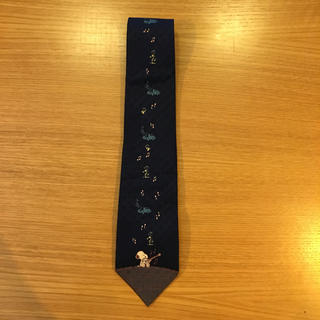 ピーナッツ(PEANUTS)のスヌーピー日本製ネクタイシルク(ネクタイ)