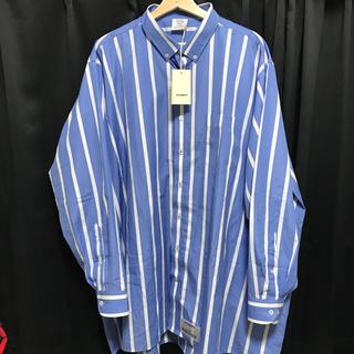 バレンシアガ(Balenciaga)の5/31専用 VETEMENTS ストライプシャツ(シャツ)