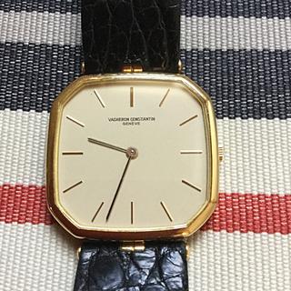 ヴァシュロンコンスタンタン(VACHERON CONSTANTIN)の希少 ヴァシュロン・コンスタンタン スリム 手巻き 精度良好 金無垢(腕時計(アナログ))