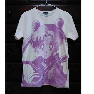バンダイ(BANDAI)のセーラームーン Tシャツ Mサイズ BANDAI 薄いピンク色(Tシャツ(半袖/袖なし))