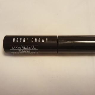 ボビイブラウン(BOBBI BROWN)のボビイブラウン ブローシェイパー 01 ブロンド(眉マスカラ)