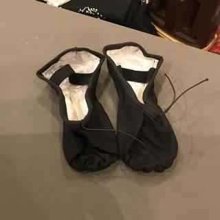 チャコット(CHACOTT)の新品 チャコット バレエシューズ オール布タイプ 黒(バレエシューズ)