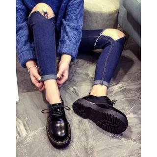 レディース 厚底 マーチン風ブーツ(ブーツ)