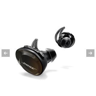 完全ワイヤレスイヤホン SoundSport Free Wireless Headphones Bose 直輸入品 ブラック (ボーズ) (Black)
