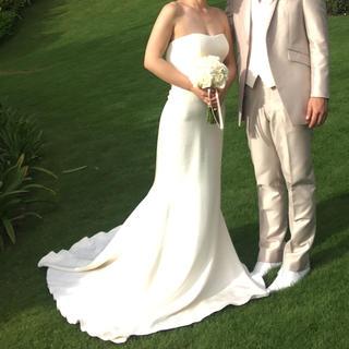 ヴェラウォン(Vera Wang)のasak様専用 Verawang odelle ウェディングドレス ベール付き(ウェディングドレス)