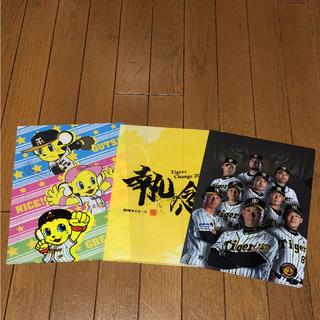 ハンシンタイガース(阪神タイガース)の阪神タイガース クリアファイル3枚セット(クリアファイル)