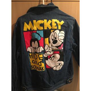 ディズニー(Disney)のミッキー Gジャン(Gジャン/デニムジャケット)