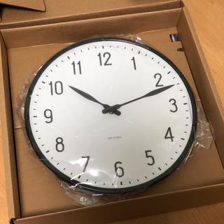 アルネヤコブセン(Arne Jacobsen)のanzyii様専用!アルネヤコブセン ウォールクロック 新品!(掛時計/柱時計)