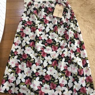 アンティカ(antiqua)のキャサリン様専用ですantiqua 花柄スカート(ロングスカート)