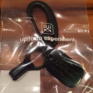 ユニフォームエクスペリメント(uniform experiment)の黒 uniform experiment dog tag key ring(その他)